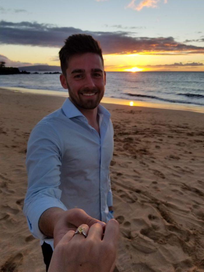Sarah's Proposal in Maui