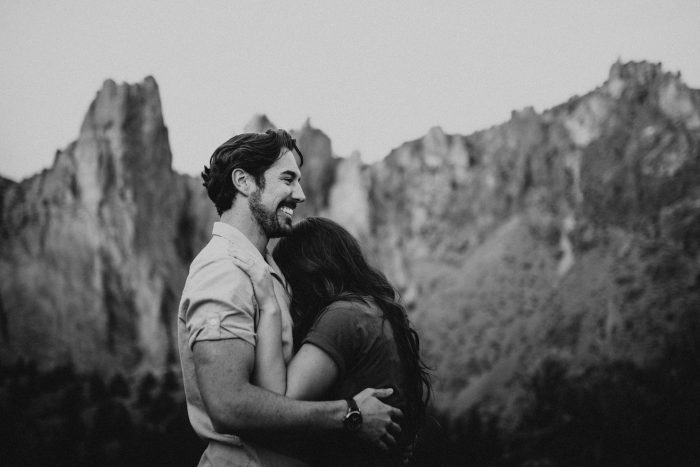 Marriage Proposal Ideas in Smith Rock State Park