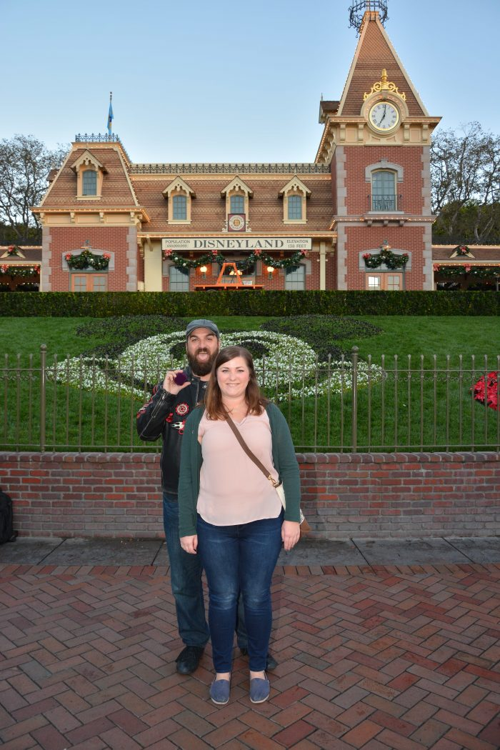 Dallas and Jared's Engagement in Disneyland