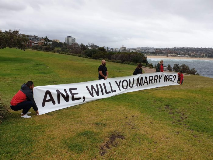 Engagement Proposal Ideas in Bondi Beach