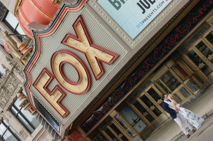 Shannon's Proposal in Fox Theatre, Detroit, Mi
