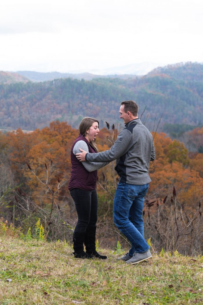 Kendra and Christian's Engagement in Smoky Mountain National Park