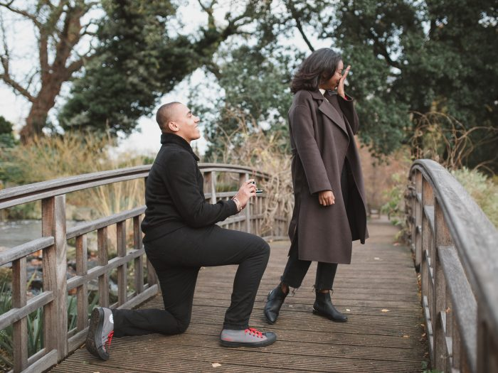 Where to Propose in Regent's Park london