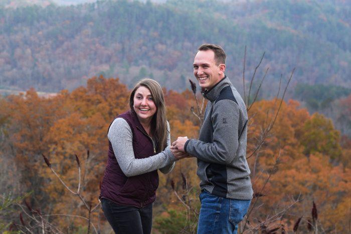 Kendra's Proposal in Smoky Mountain National Park