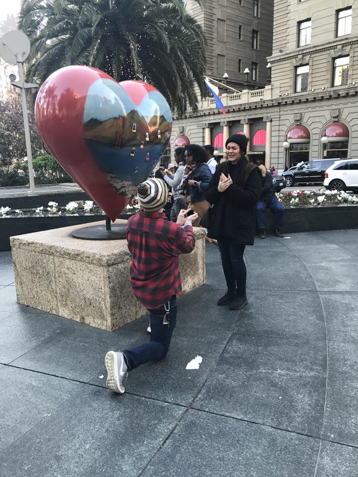 Jessica's Proposal in San Francisco