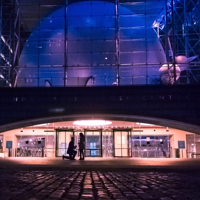 Carla and Valentino's Engagement in Hayden Planetarium