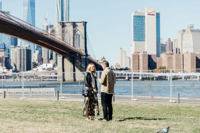 Marriage Proposal Ideas in DUMBO, Brooklyn, NY