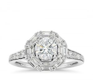 Image 15 of 15 Heavenly Halo Engagement Rings: Stunners that Are Sure to Have Her on Cloud Nine