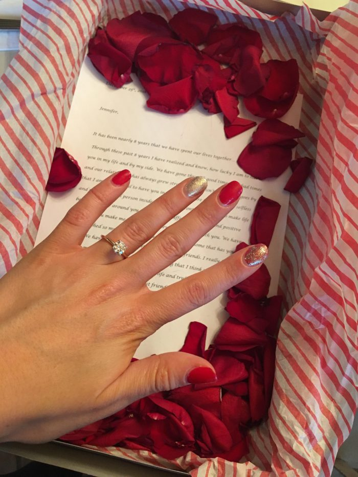 Where to Propose in Our first home