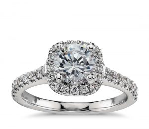 Image 13 of 15 Heavenly Halo Engagement Rings: Stunners that Are Sure to Have Her on Cloud Nine