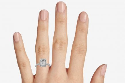Image 7 of 15 Heavenly Halo Engagement Rings: Stunners that Are Sure to Have Her on Cloud Nine