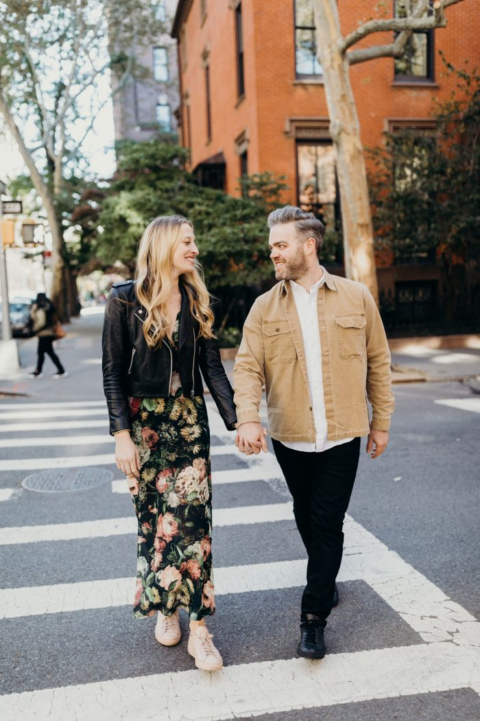 Bria and Tim's Engagement in DUMBO, Brooklyn, NY
