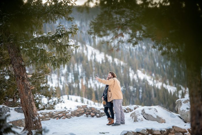 Katie and Rivers's Engagement in Sapphire Point - Dillon, CO