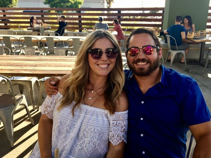 Noelle and Mike's Engagement in On Balboa Island, at the restaurant we met and had our first date