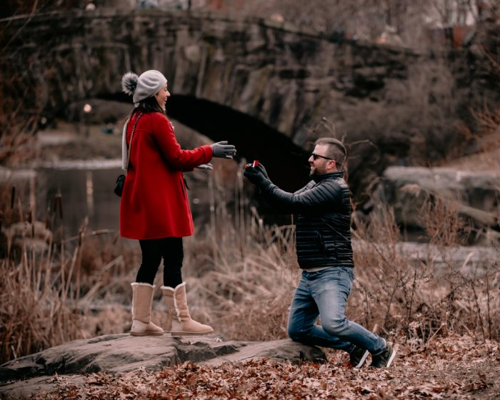 Where to Propose in Central Park NYC