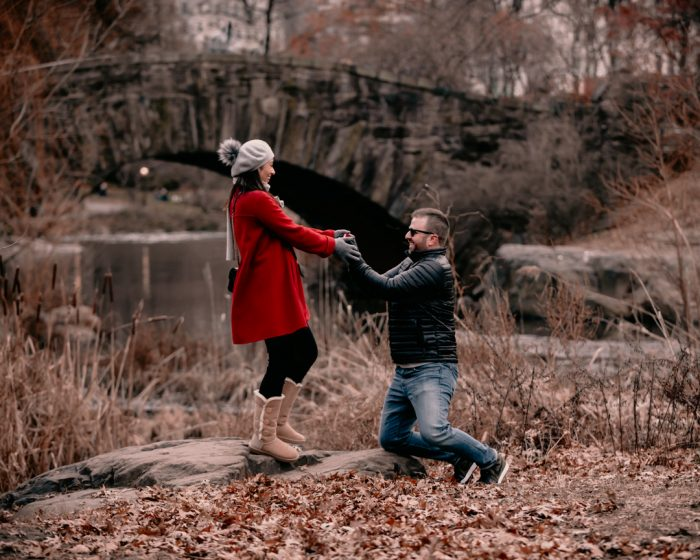 Mary and Matt's Engagement in Central Park NYC