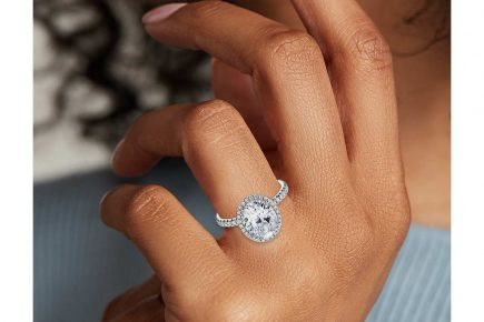 Image 9 of 15 Heavenly Halo Engagement Rings: Stunners that Are Sure to Have Her on Cloud Nine