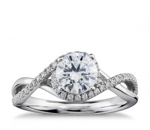 Image 14 of 15 Heavenly Halo Engagement Rings: Stunners that Are Sure to Have Her on Cloud Nine