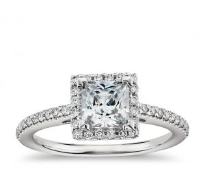 Image 5 of 15 Heavenly Halo Engagement Rings: Stunners that Are Sure to Have Her on Cloud Nine