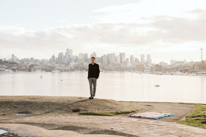 Where to Propose in Seattle at Gasworks Park