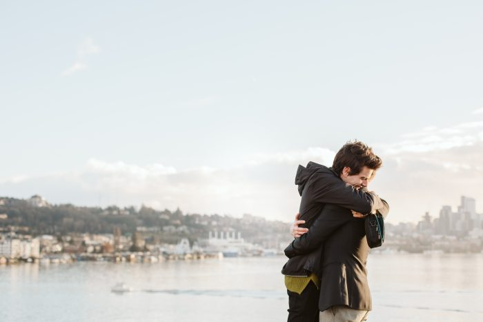 Marriage Proposal Ideas in Seattle at Gasworks Park