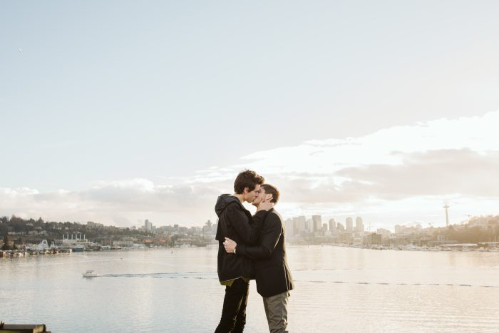 Engagement Proposal Ideas in Seattle at Gasworks Park