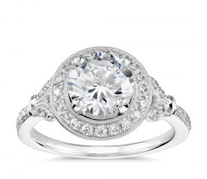 Image 11 of 15 Heavenly Halo Engagement Rings: Stunners that Are Sure to Have Her on Cloud Nine