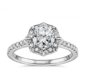 Image 16 of 15 Heavenly Halo Engagement Rings: Stunners that Are Sure to Have Her on Cloud Nine