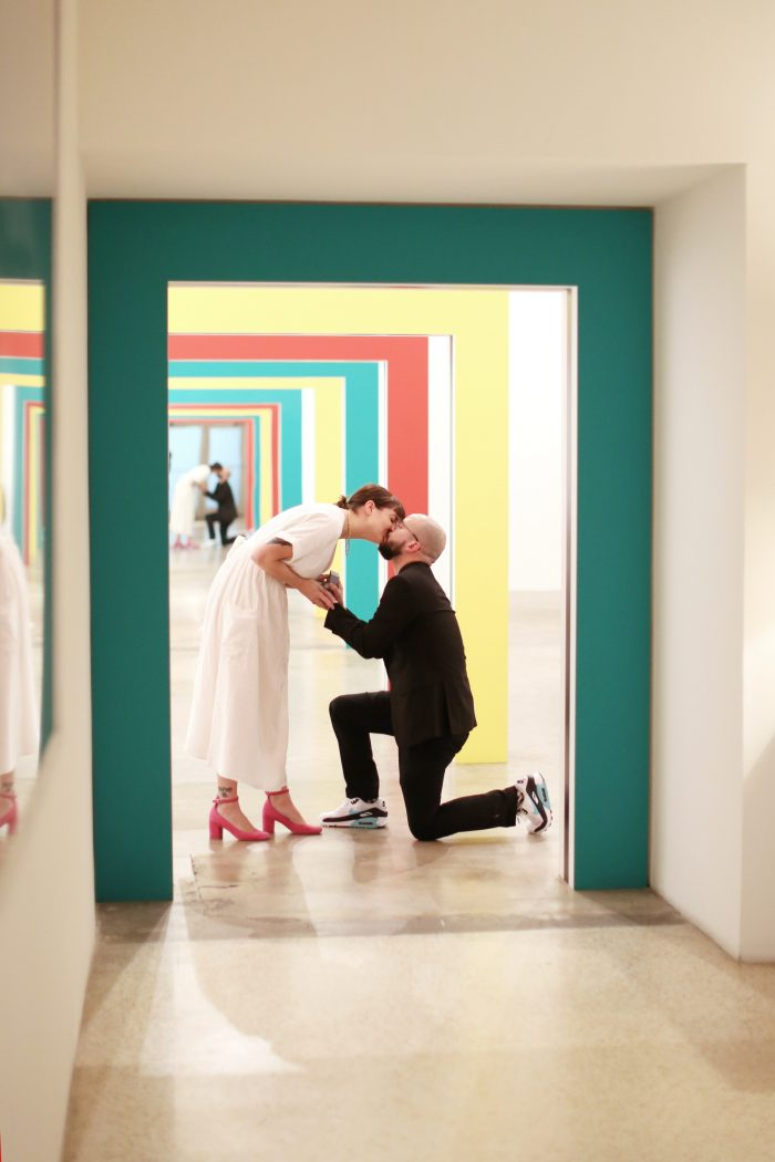 Where to Propose in The M Building in Miami, FL