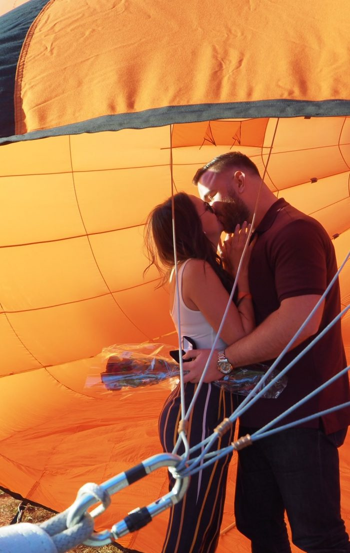 Engagement Proposal Ideas in Carolina BallonFest