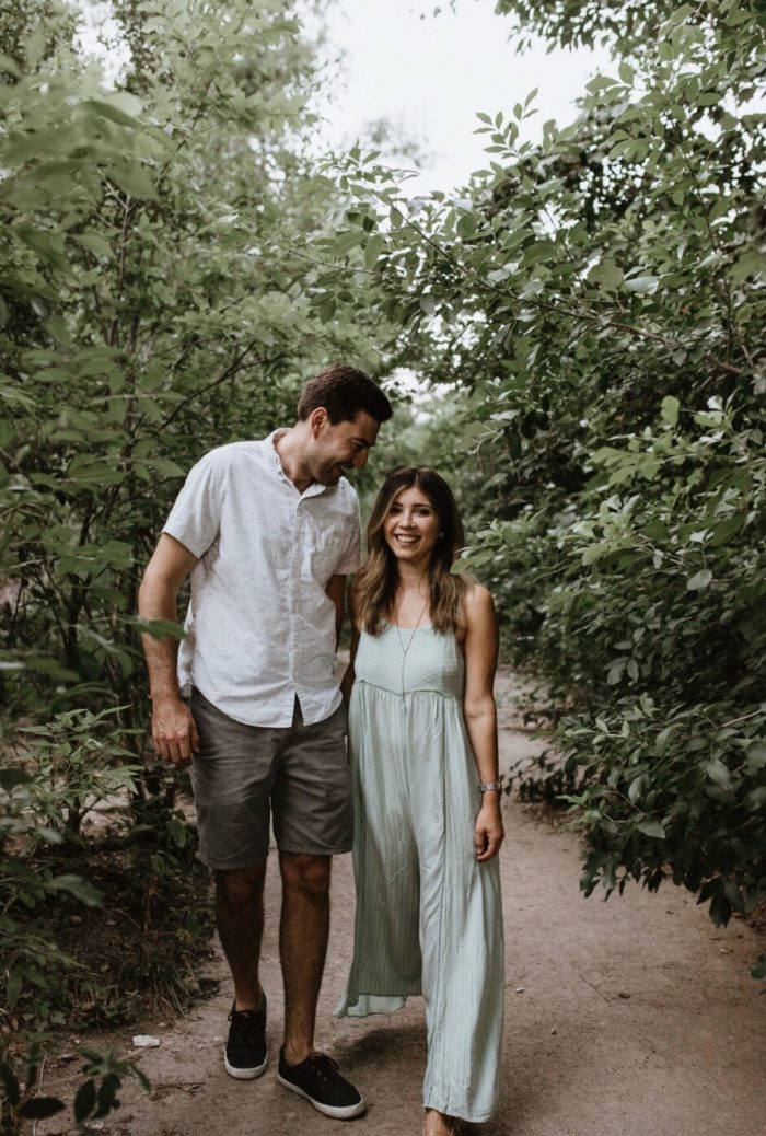 Alena's Proposal in Mount Bonnell in Austin, Texas