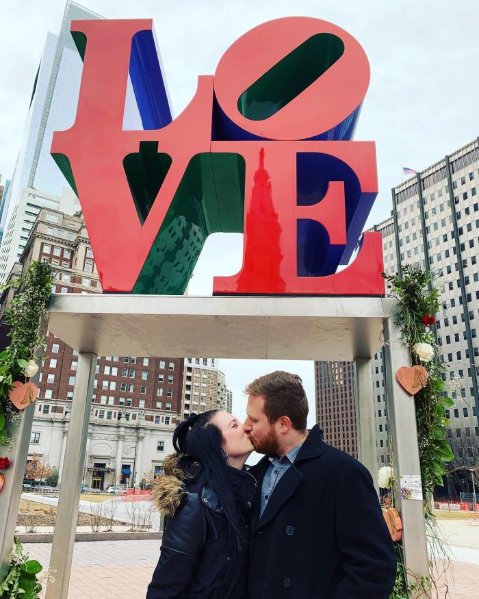 Wedding Proposal Ideas in Love Park - Philadelphia