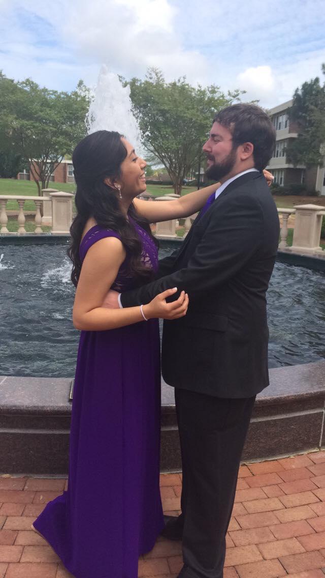Wedding Proposal Ideas in Carolina Panthers Football Games Charlotte, NC