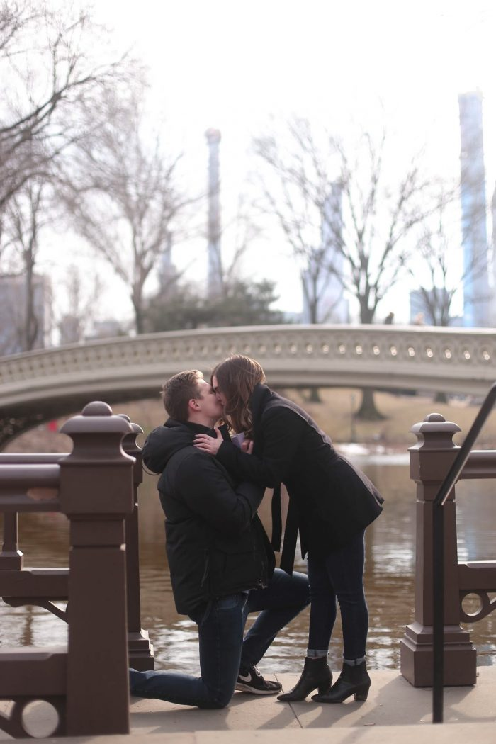 Wedding Proposal Ideas in Central Park, New York, New York
