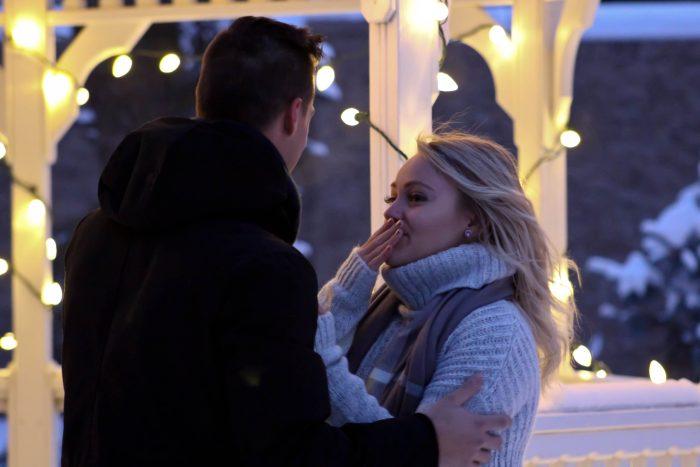 Ashley and Almir's Engagement in Lethbridge Alberta
