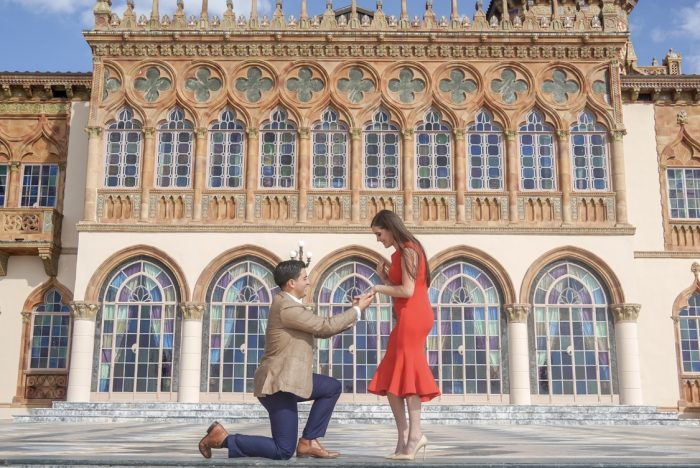 Wedding Proposal Ideas in The Ringling Museum