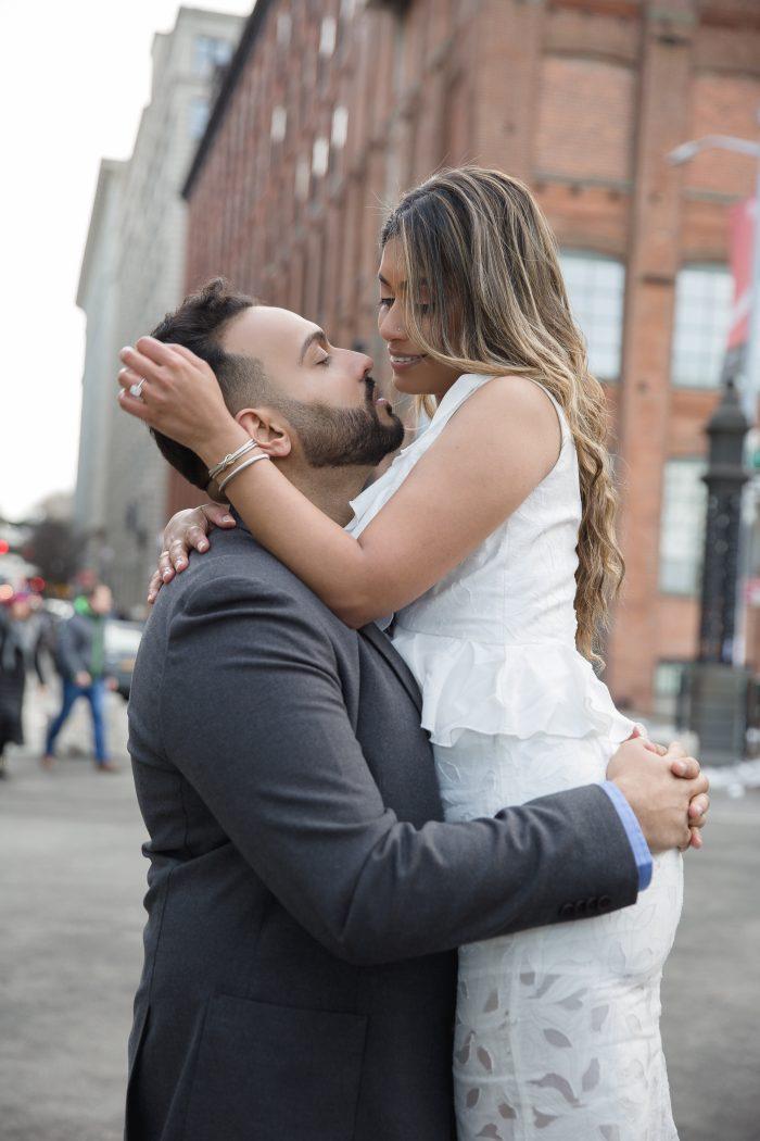 Ishan Sazeda and Sunny's Engagement in Brooklyn Bridge