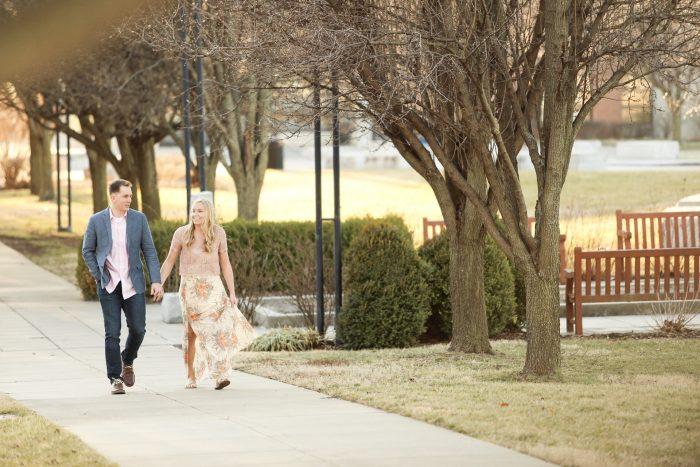 Maya and John's Engagement in Springfield, MO