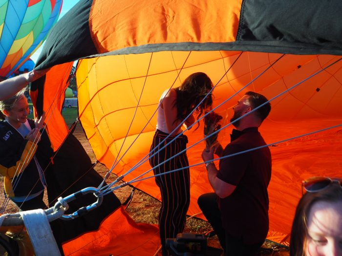 Marriage Proposal Ideas in Carolina BallonFest