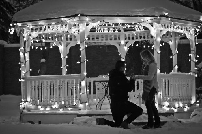 Ashley's Proposal in Lethbridge Alberta