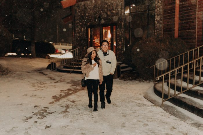 Kryzia and Sean's Engagement in The Retreat at Mount Charleston in Las Vegas, NV