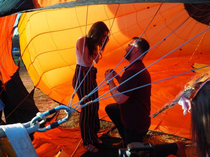 Wedding Proposal Ideas in Carolina BallonFest