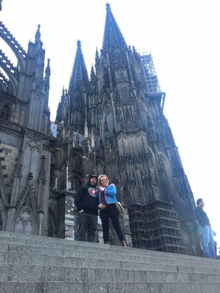 Kimberly's Proposal in Köln Germany