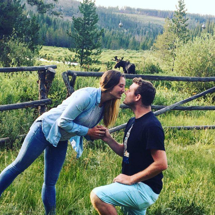 Aubrey's Proposal in Breckenridge, CO