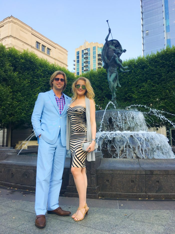Madelaine and Beau's Engagement in Las Vegas - at the Bellagio