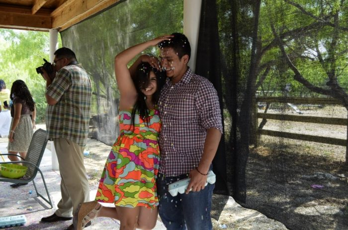 Lanize and Luis's Engagement in Gruene, Texas