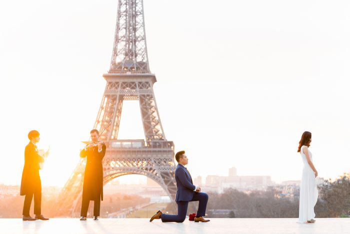 Where to Propose in Eiffel Tower, Paris