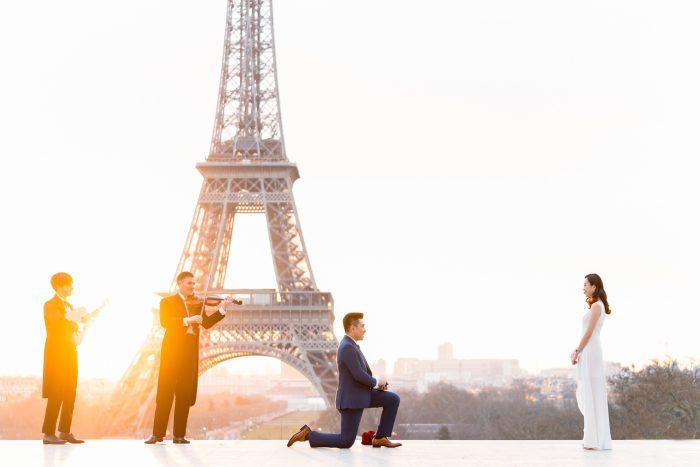 Engagement Proposal Ideas in Eiffel Tower, Paris