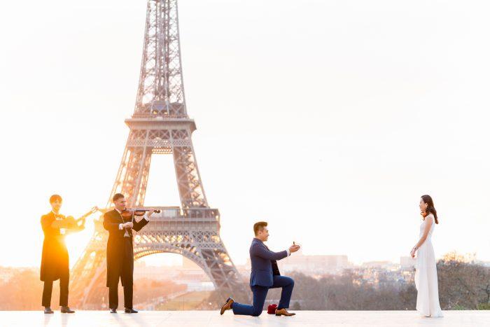 Proposal Ideas Eiffel Tower, Paris