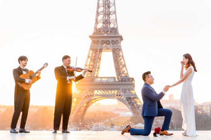 Kevin Lo's Proposal in Eiffel Tower, Paris